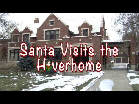 Santa Visits Hoverhome - Longmont, CO.
