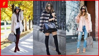 How to Wear Fur Coats