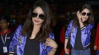 Priyanka Chopra SPOTTED At Mumbai Airport Leaving For USA | Baywatch | Quantico Shooting