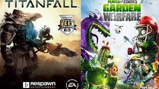 Titanfall релизная версия. Прямой эфир + Plants vs Zombies: Garden Warfare (Начало в 19:00 МСК)
