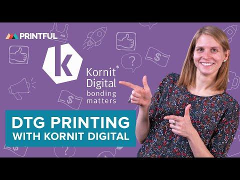 DTG Printing Process Breakdown With @Kornit Digital - Digital Textile Printing Solutions