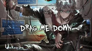 Video Drag Me Down (Rock Cover) Nightcore download MP3, 3GP, MP4, WEBM, AVI, FLV Desember 2017