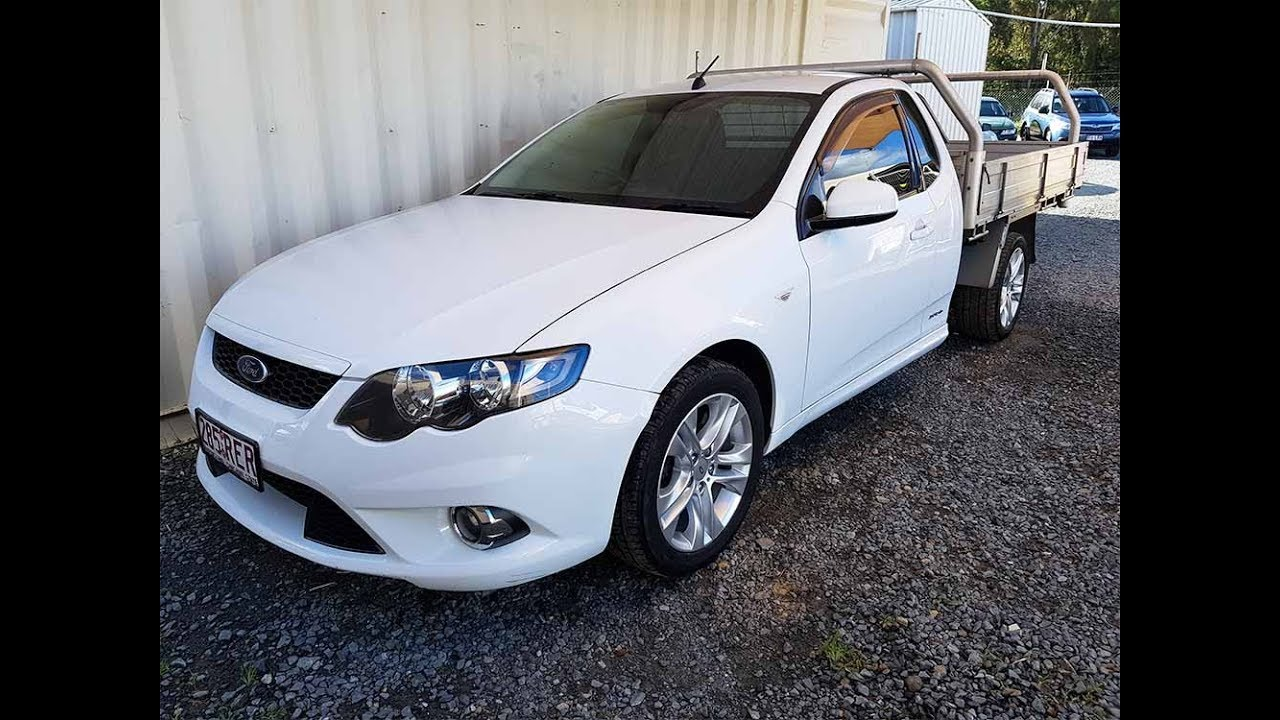 (SOLD) Automatic Utes  Ford Falcon FG XR6 with tray on LPG gas 2010 Review