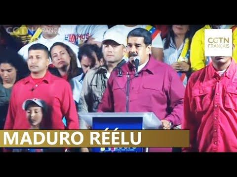 Nicolas Maduro réélu avec un faible taux de participation pour un nouveau mandat