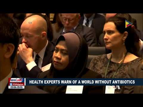 GLOBAL NEWS: Health experts warn of a world without antibiotics