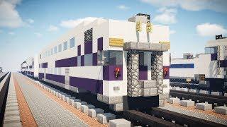 Minecraft Metrolink Bombardier Bi-level Coach Tutorial