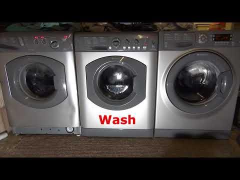 Wash race : Hotpoint vs Hotpoint vs Hotpoint on Fast wash 30'