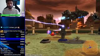 Ratchet and Clank: Up Your Arsenal Any% Speedrun in 56:00