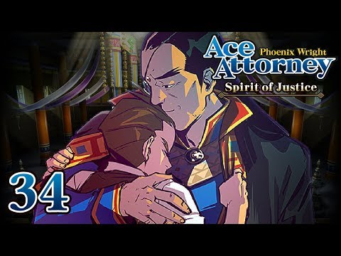 A DRAGON NEVER YIELDS - Let's Play - Phoenix Wright: Ace Attorney: Spirit of Justice - 34