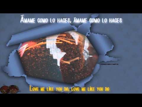 Ellie Goulding - Love Me Like You Do [Traducido al español/English Lyrics] || Video Oficial