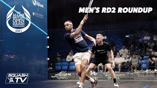 Squash: Allam British Open 2021 - Men's Rd2 Roundup