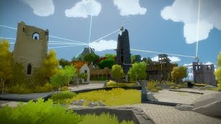 The Witness - Town Puzzle Walkthrough