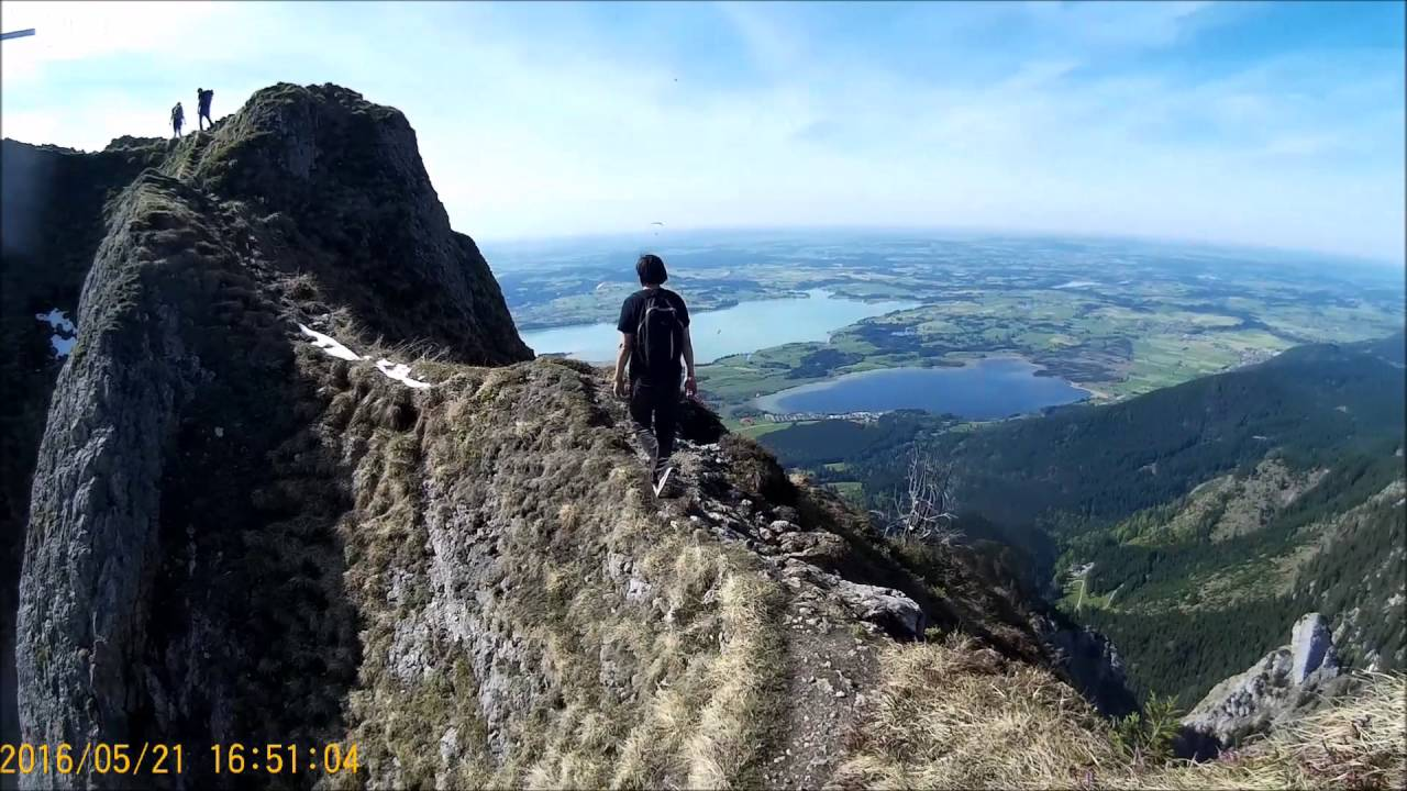 Bmw European Delivery >> Tegelberg Mountain Peak Walk POV ,Schwangau, Germany - YouTube