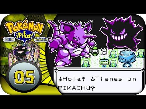 Pokémon Amarillo #5   GLITCH Gengar y Nidoking al nivel 100 antes de Brock