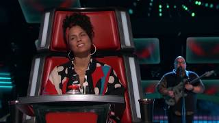 The Voice: Perfomances  of Singers who used electric guitar