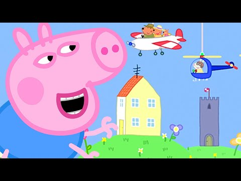 Peppa Pig Official Channel   Ahhh! George Pig Becomes a Giant at the Tiny Land