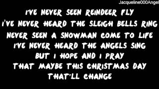 Maybe This Christmas Lyrics On Screen - Shane Dawson [Official]