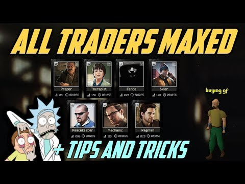 All Traders Maxed Out + TIPS & TRICK   |  Escape From Tarkov