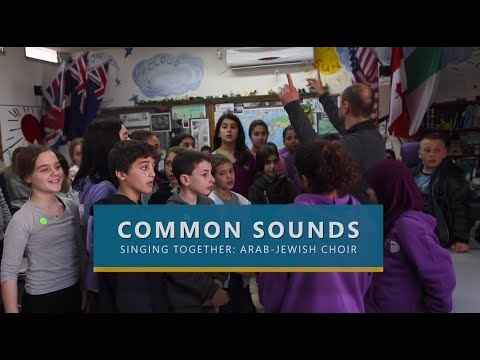 Common sounds: Bringing together Jewish & Arab children through music