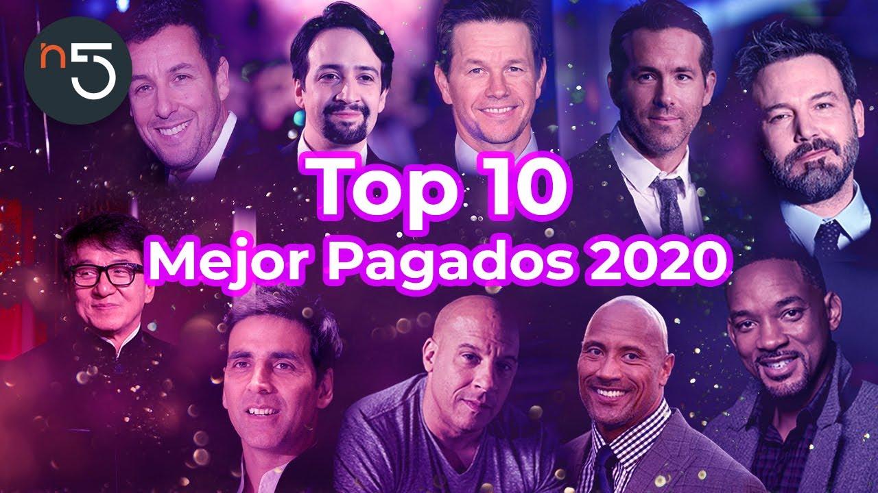 Los 10 Actores Mejor Pagados del 2020 | En5.mx