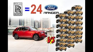 Why ? A Rolls Royce Cullinan 2018 Price = 24 Ranger 2018 let