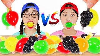 Tiktok Jelly Fruit Candy Challenge 틱톡 과일 젤리 챌린지 DONA 도나