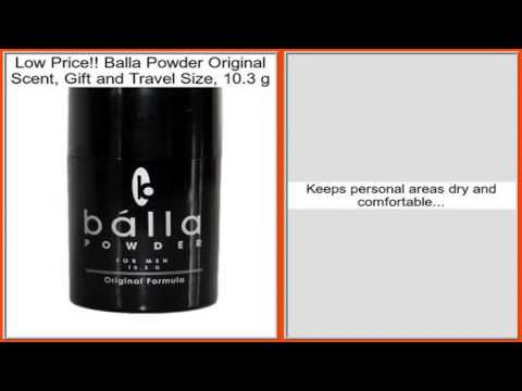 Balla Powder Original Scent, Gift and Travel Size, 10.3 g Review