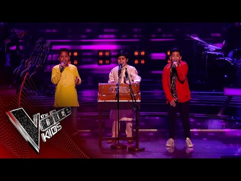 WATCH: Indian-origin boy stuns with a harmonium in The Voice