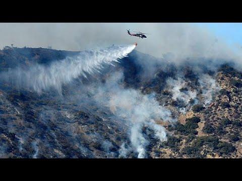 Καλιφόρνια: Μαίνονται ανεξέλεγκτα τα πύρινα μέτωπα