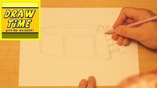 How to Draw a Swimming Pool