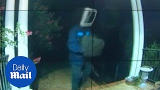 Mystery man leaves vintage TVs on neighborhood front porches