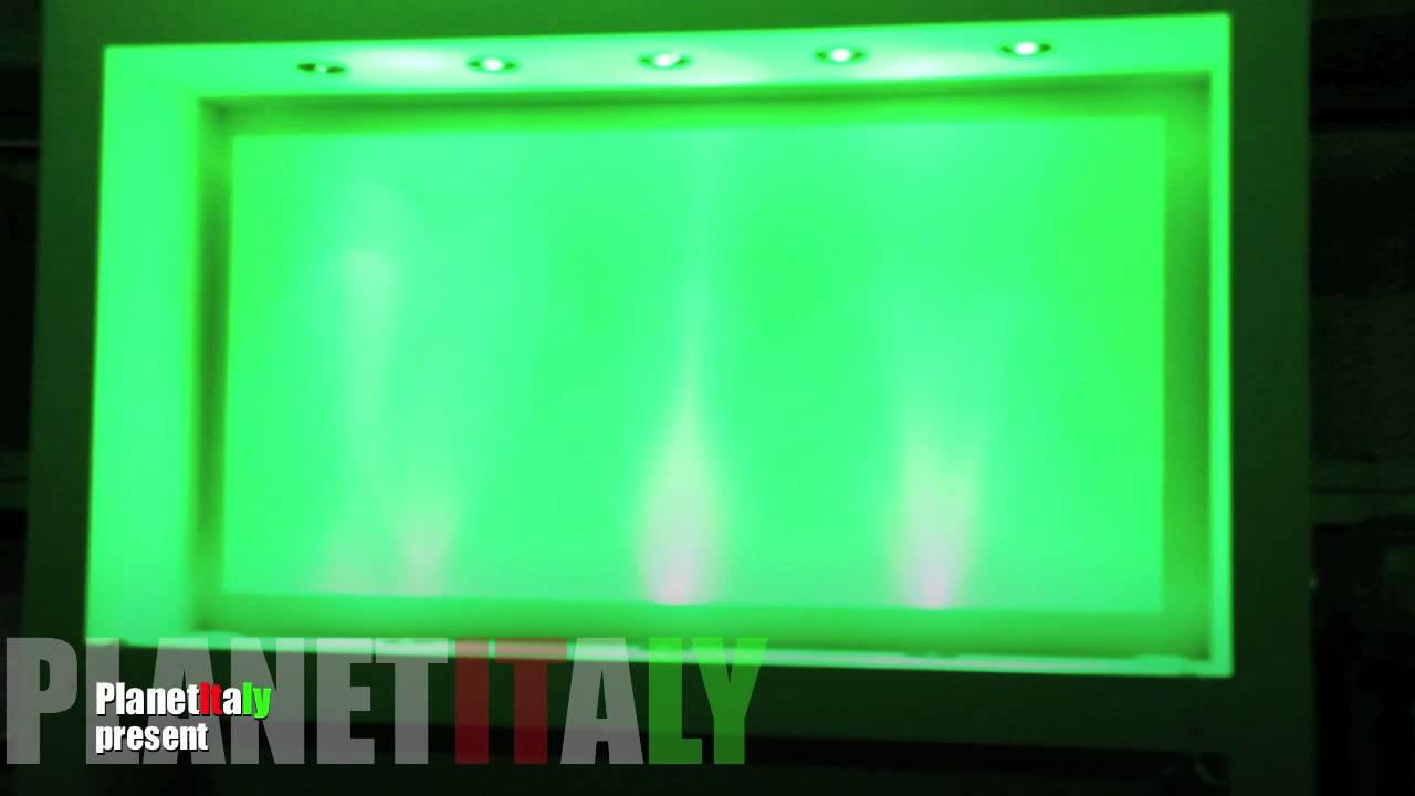 Faretti led pendenti : Faretto led rgb 15 watt cromoterapia illuminazione bagno ...