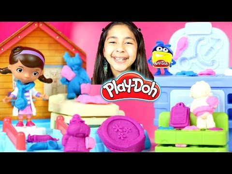 Tuesday Play Doh Doc McStuffins Doc's Clinic| B2cutecupcakes