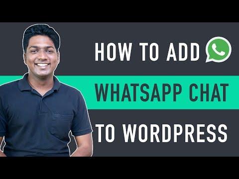 How To Add WhatsApp Chat To WordPress Website