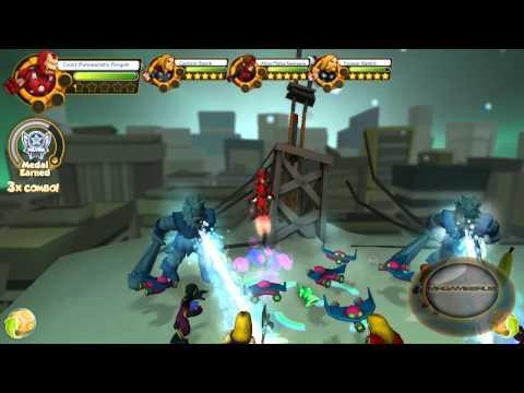 Marvel Super Hero Squad Online Avengers Iron Man Fail Gameplay- HD