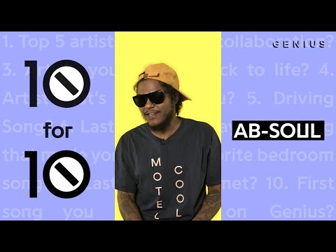 Ab-Soul Puts Eminem and Lupe Fiasco in His Top Five   10 For 10