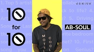 Ab-Soul Puts Eminem and Lupe Fiasco in His Top Five | 10 For 10