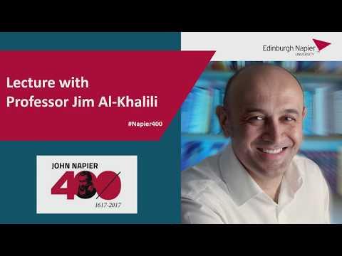 John Napier 400 Lecture by Jim Al-Kahlili