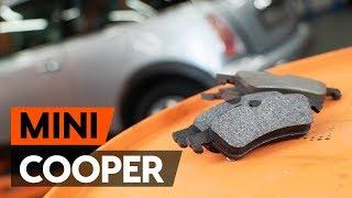Πώς αλλαζω Τακάκια Φρένων MINI MINI (R50, R53) - οδηγός βίντεο
