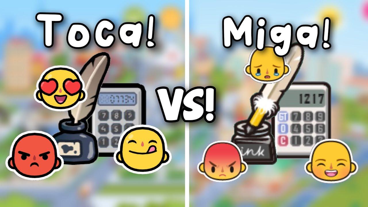 Download TOCA VS MIGA ITEMS!😎💗  Toca shine ✨