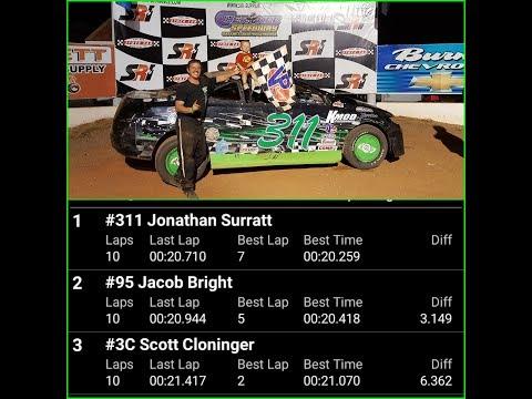 07-06-18 #TeamKMOD #311_JonathanSarratt Wins at Cherokee Speedway (SCDRA-FWD)