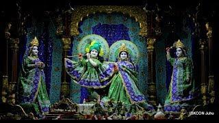Mangal Arati Darshan Sri Sri Radha Rasbihari Temple 15th Aug 2018 Live from ISKCON Juhu, Mumbai