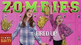FIRED UP (Disney's Zombies) Cast 🎵 Sophia & Bella Mugglesam