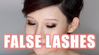 My Favourite Drugstore False Lashes for hooded or Asian Eyes