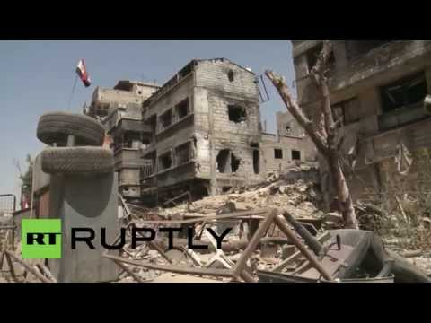 Syria: Syrian military retake part of Yarmouk refugee camp