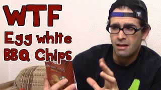 WTF: Egg Protein BBQ Chips by IPS - Good Junk Food? | FreakEating Weird Foods and Finds