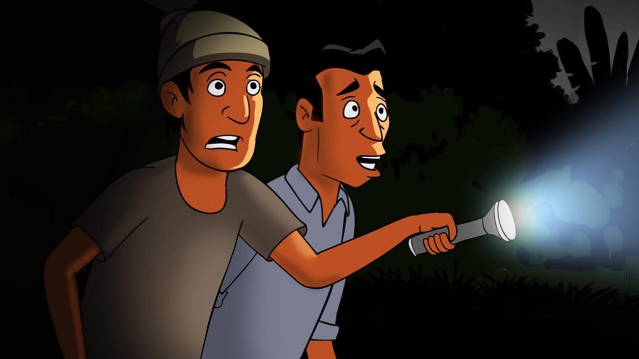 Kartun Lucu Pocong Malam Jumat Kliwon Funny Cartoon