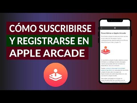 Cómo Suscribirse y Registrarse a Apple Arcade paso a paso