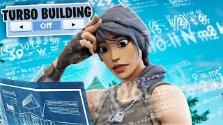 I played Fortnite without TURBO BUILDING