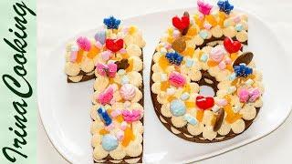 Торт ЦИФРА БУКВА ○ Абсолютный Тренд ○ Топовый ДЕКОР | Cake Number Letter ○ Trend 2018